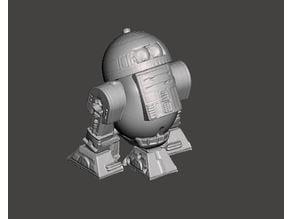 R2D2 Mr Potato Head 3D scan