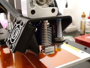 E3D v6 Adapter for Printrbot Simple Metal