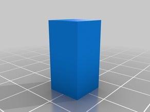 Square Prism mineral model