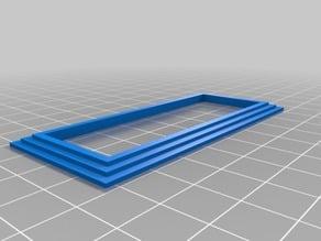 2X16 LCD Bezels, Multiple Styles