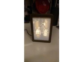 Lithophanie Frame Lamp