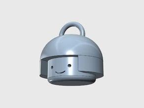 Sumo Head Keychain