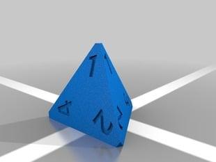D4 Polyhedral Die
