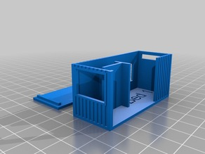 Parametric Shipping Container