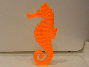 Seahorse - Balanced so it stands on its tail!