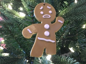 Dual/Multi Material Gingerbread Man with No Legs