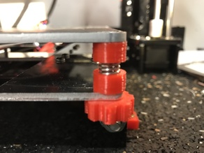 Anet A8 Hotbed Spring Cap (with m3 nut spacing)