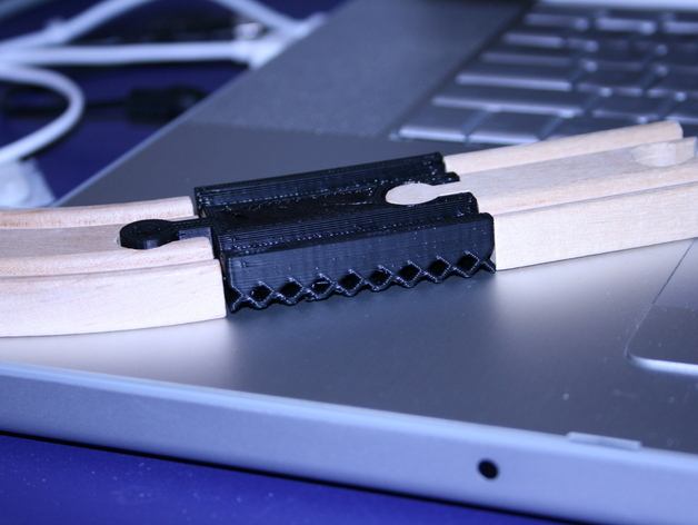 MakerBot Printed Toy Train Track
