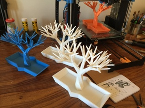 Jewelry Tree Holder with Base