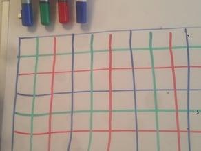 Whiteboard Marker Holder 2