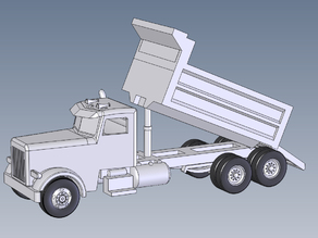 Dump Truck bed up