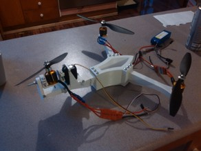 Full-size, fully printable tricopter
