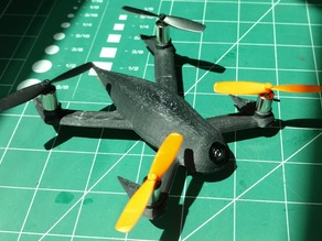 FPV Evil Insect Quadcopter