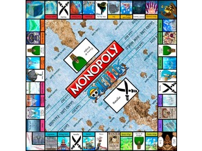 Complete Monopoly One Piece Edition
