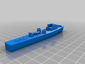 Fairmile C Motor Gun Boat - 1/300 scale