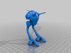Robotech Zentradi Battlepod