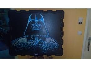 Canvas Frame Darth Vader
