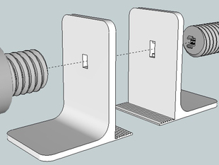 Snap On Screw-it Bookstand!