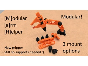 MaH - Modular Arm Helper - No support - Easy print