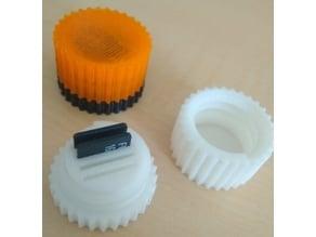 Micro SD Card threaded Box