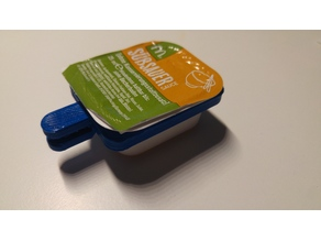 Sauce Holder for Chicken McNugget Sauce