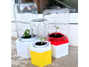 Upcycle Jar Greenhouse