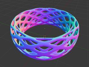 Voronoi Bracelet - Large