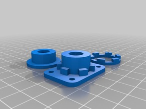 My Customized Solidoodle Torsional Anti-Backlash Nut for Z-Axis