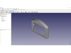 "NEXTION Display 4.3"" mount for simracing"