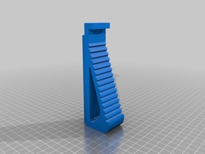 Angled Fore grip for any Nerf rail