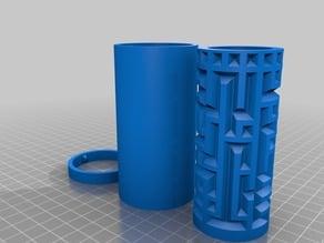 Maze Cylinder Box Visible or Hidden