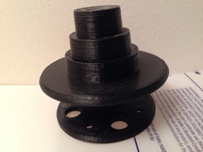 Variable size Spool Rotation System (Updated for 608 bearing)