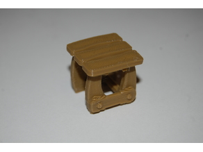 Taburete medieval Playmobil