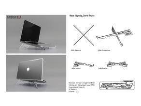 Ventilation base for laptop