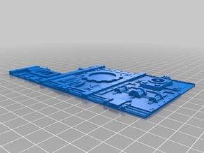 Modular Terrain System - Manufactorum easy print