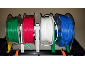 Horizontal Multi-Spool Filament System