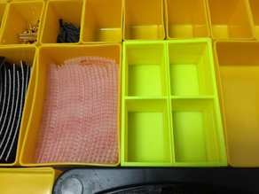 Harbor Freight 20 Bin Storage case inserts