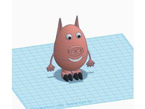 EASTER PIG EGG