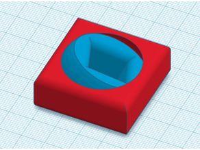 3d fidget gyro (print in place) 40x40