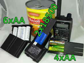 ICOM IC-E90 battery packs