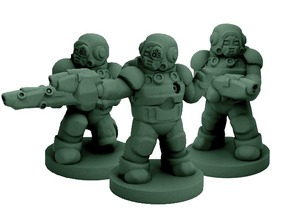 Modular Mercenary Trooper Kit (18mm scale)