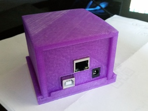 Arduino and Ethernet Shield Enclosure