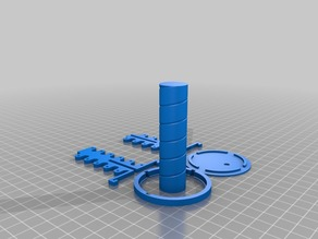 My Customized Helix (Helical) Antenna Frame and Winding Template
