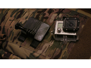 Tactical Molle mount for GoPro