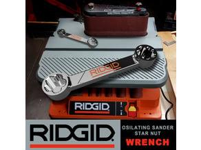 RIDGID Oscillating Edge/Belt Spindle Sander Wrench