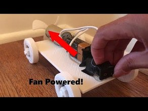 Fan Powered Car for Kids!