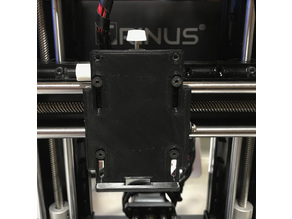 Extruder mounting Plate with adjustable height