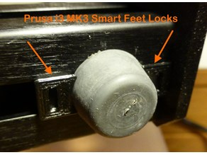 Prusa i3 MK3 Feet Smart Lock
