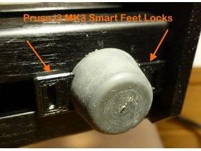 Prusa i3 MK3 Feet Smart Lock