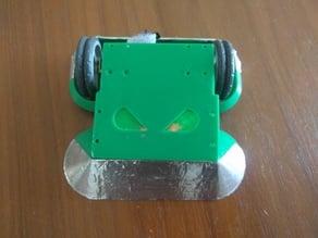 Antweight wedge combat robot